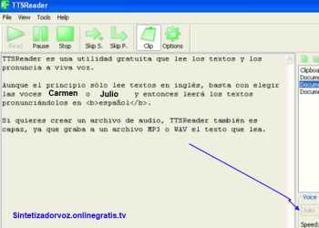 Sintetizador De Texto A Voz Tts Español Lectura Automática